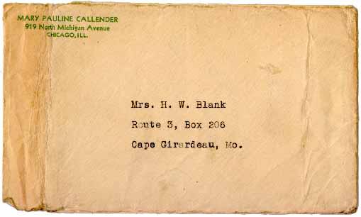 sending a letter format envelope. Format envelope,