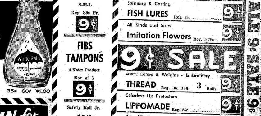 Fibs tampon (Kotex), ads (1940-1959) at MUM