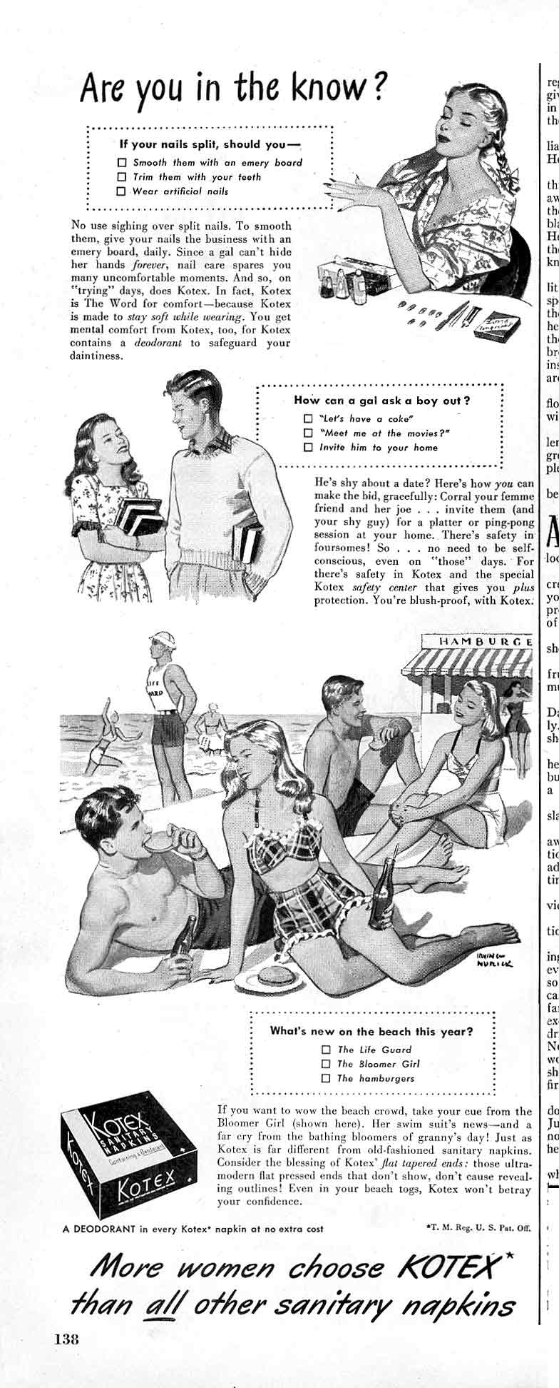 Did people masturbait in the 40s and 1950s?