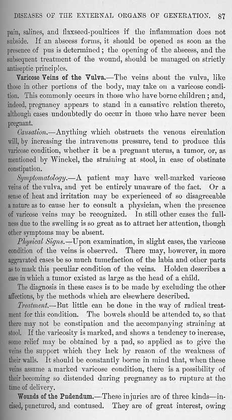 Excerpts From Dr  Alexander Skene U0026 39 S  U0026quot Diseases Of Women U0026quot  At Mum